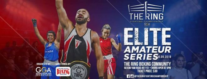 BOXING - Elite Amateur Series by The Ring communities - 08/09/2018 @ THE RING